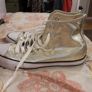 Converse high tops excellent condition